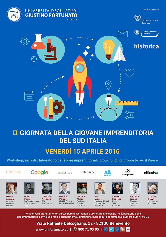 Giornata della Giovane Imprenditoria - Seconda Edizione - Manifesto