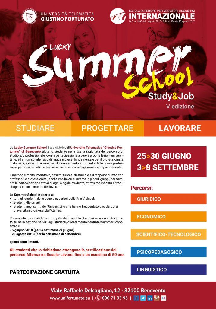 Summer School (Study   Job - V Edizione)  b049a636db2ff