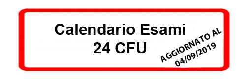 Unisa Calendario Esami.24 Cfu Per L Insegnamento A A 2019 2020 Universita